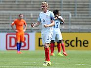 Netherlands U19 v England U19 150716