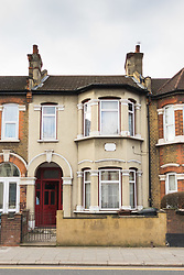 One of the alleged addresses, 137 Fanshawe Avenue in Barking, East London, of Shakir Ali and Shahida Aslam who were caught by surprise by their landlord and filmed by Channel 5 for 'Can't Pay? We'll Take It Away' and subsequently sued Channel 5 claiming they had a reasonable expectation of privacy, and won despite C5's public interest defence.<br /> Barking, London, February 23 2018.