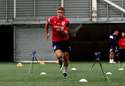 George Nurse sprints as Bristol City Under 23's return to training with fitness testing ahead of the 2017/18 season - Mandatory by-line: Robbie Stephenson/JMP - 30/06/2017 - FOOTBALL - SGS Wise Campus - Bristol, United Kingdom - Bristol City Under 23's Fitness Tests
