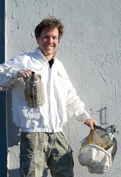 Chase Emmons, Bee Keeper, Brooklyn Grange