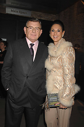 GERALD & GAIL RONSON at Fast Forward - a fund-raising party for the National Theatre held at The Roundhouse, London NW1 on 1st March 2007.<br />