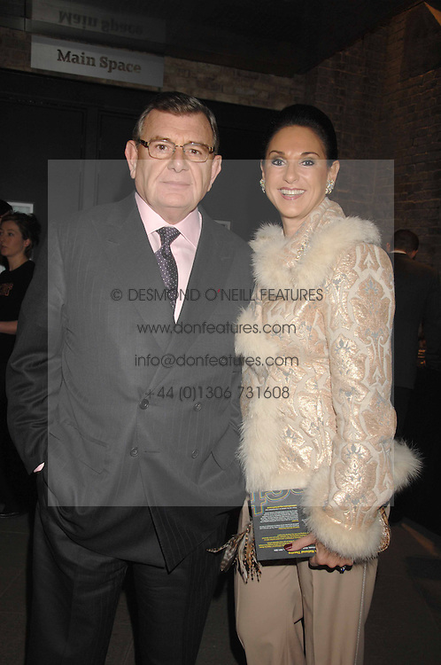 GERALD &amp; GAIL RONSON at Fast Forward - a fund-raising party for the National Theatre held at The Roundhouse, London NW1 on 1st March 2007.<br />