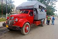 Old truck in Moron, Ciego de Avila, Cuba.