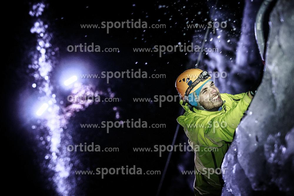 THEMENBILD -Eiskletterer , aufgenommen am 29. Jänner 2016, Breitenau am Hochlantsch, Österreich // ice climber, Alice im Wunderland, taken on 29 January 2016 Breitende am Hochlantsch, Austria, EXPA Pictures © 2016, PhotoCredit: EXPA/ Dominik Angerer