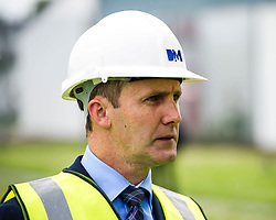 "Pictured: Michael Matheson<br /> Justice Secretary Michael Matheson joined governor Caroline Johnstone to mark the start of demolition of Corton Vale Prison today. Cornton Vale is a women's prison in Stirling, operated by the Scottish Prison Service. Built in 1975, Cornton Vale comprises a total of 217 cells in its 5 houses. Ministers decided to close the prison after former Lord Advocate Elish Angiolini warned it was ""not fit for purpose"".<br />  <br /> Ger Harley 