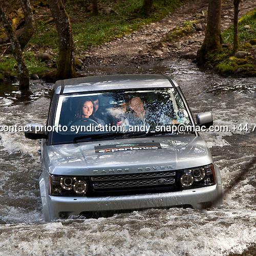 Miss Scotland 2012   Landrover Experience Challenge.. The.