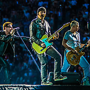 Irish band U2 plays Qwest Field in Seattle, WA on 6-4-2011.