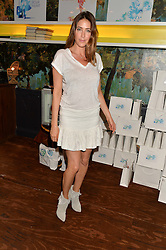 LISA SNOWDON at a tea party to launch Grace Guru held at Sketch, 9 Conduit Street, London on 17th June 2015.