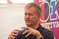 British journalist David Goodhart at the 'Truth Matters: Media in an Age of Fake News' discussion at the Dalkey Book Festival, Dalkey, County Dublin, Ireland, Saturday 17th June 2017. Photo credit: Doreen Kennedy