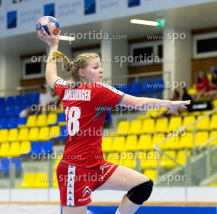 29.05.2016, BSFZ Südstadt, Maria Enzersdorf, AUT, ÖHB, Testspiel, Österreich vs Argentinien, im Bild Romana Grausenburger (AUT)// during the women's friendly match between Austria and Argentina at the BSFZ Südstadt, Maria Enzersdorf, Austria on 2016/05/29, EXPA Pictures © 2016, PhotoCredit: EXPA/ Sebastian Pucher