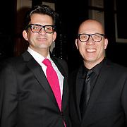 NLD/Amsterdam/20120217 - Premiere Saturday Night Fever, Maurice Wijnen en Ronald den Ouden