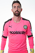 Forest Green Rovers goalkeeper Sam Russell(23) during the Forest Green Rovers Photocall at the New Lawn, Forest Green, United Kingdom on 31 July 2017. Photo by Shane Healey.