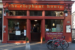 Elephant House cafe in Edinburgh, Scotland, United Kingdom.