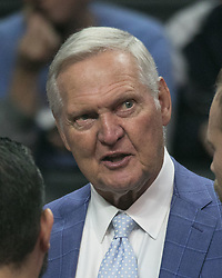 November 30, 2017 - Los Angeles, California, United States of America - Jerry West, consultant of the Los Angeles Clippers attends the game with the Utah Jazz on Thursday November 30, 2017 at the Staples Center in Los Angeles, California. Clippers lose to Jazz, 126-107. JAVIER ROJAS/PI (Credit Image: © Prensa Internacional via ZUMA Wire)
