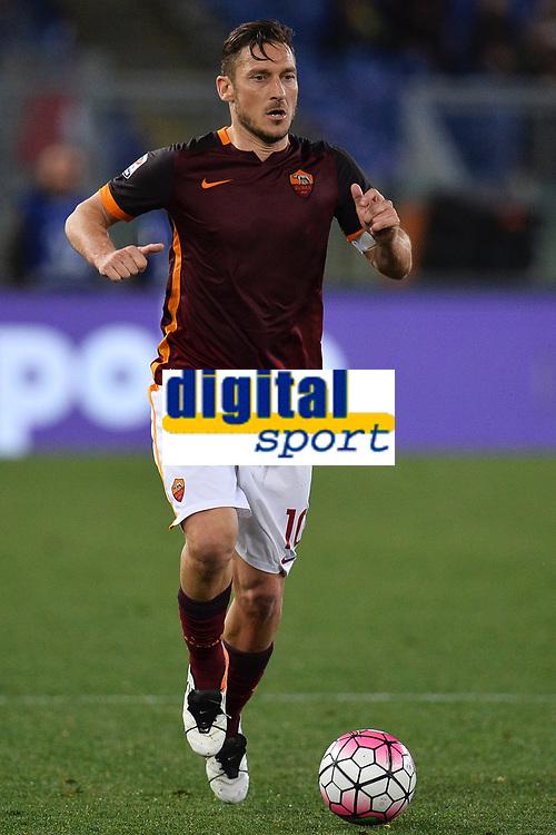 Francesco Totti Roma <br /> Roma 11-04-2016 Stadio Olimpico Football Calcio Serie A 2015/2016 AS Roma - Bologna Foto Andrea Staccioli / Insidefoto