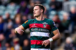George Worth of Leicester Tigers - Mandatory by-line: Robbie Stephenson/JMP - 03/11/2018 - RUGBY - Welford Road Stadium - Leicester, England - Leicester Tigers v Worcester Warriors - Gallagher Premiership Rugby
