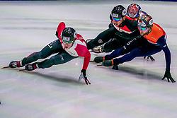 06-10-2017 NED: ISU Shorttrack WC2017, Dordrecht<br /> 1000m / Daan Breeuwsma kwalificeert zich voor de kwartfinales door ADV