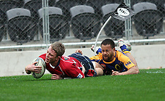 Dunedin-Rugby, ITM Preseason Otago v Tasman