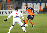 JORIS MARVEAUX - 07.02.2015 - Montpellier / Lille - 24eme journee de Ligue 1<br /> Photo : Andre Delon / Icon Sport