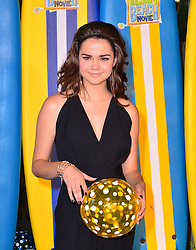 Teen Beach Movie Screening.<br /> Maia Mitchell during screening of musical adventure where surfer teens mysteriously wind up in a classic beach party movie called Wet Side Story.  The Riverfront Cafe Bar, BFI, Belvedere Road, London, United Kingdom<br /> Sunday, 7th July 2013<br /> Picture by Nils Jorgensen / i-Images