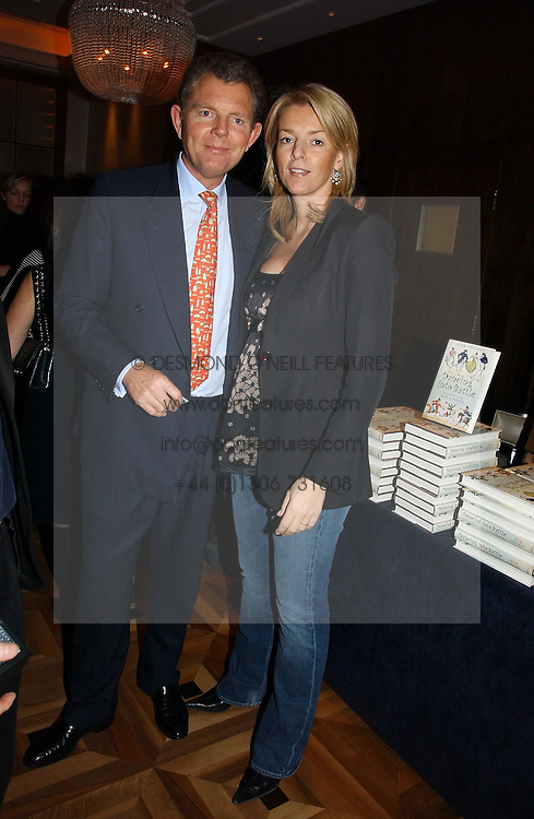 BERNARD & FIONA DREESMAN at a party to celebrate the publication of 'Dancing into Waterloo' by Nick Foulkes held at The Westbury Hotel, Conduit Street, London on 14th December 2006.<br /><br />NON EXCLUSIVE - WORLD RIGHTS