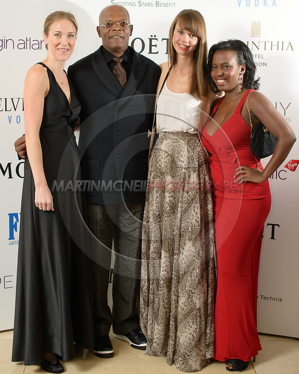 LONDON, ENGLAND, OCTOBER 20, 2012: Celebrities and guests attend the Shooting Stars Benefit Launch 2012, hosted by Samuel L Jackson, inside the Corinthia Hotel in London, United Kingdom on Saturday, October 20, 2012 © Martin McNeil / Getty Images / Getty Images for Soujar
