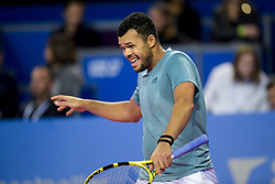 February 8, 2019 - Montpellier, France, FRANCE - deception de Jo Wilfried Tsonga  (Credit Image: © Panoramic via ZUMA Press)