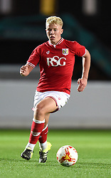 George Dowling of Bristol City - Mandatory by-line: Paul Knight/JMP - Mobile: 07966 386802 - 12/10/2015 -  FOOTBALL - Ashton Gate Stadium - Bristol, England -  Bristol City U21 v Sheffield Wednesday U21 - Professional Development League