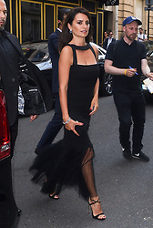 Penelope Cruz is seen out in Paris, Penelope was seen arriving at the Atelier Swarovski cocktail party. 02 Jul 2018 Pictured: Penelope Cruz. Photo credit: Neil Warner/MEGA TheMegaAgency.com +1 888 505 6342