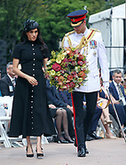 Meghan Markle & Prince Harry At ANZAC Memorial