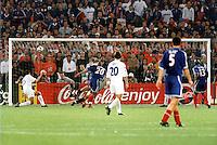But de David Trezeguet - 04.07.2000 - France / Italie - Finale Euro 2000 - Photo : Aldo Liverani / Icon Sport