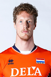 20150506 NED: Selectie Nederlands volleybal team mannen, Arnhem<br />Op Papendal werd het Nederlands team volleybal seizoen 2015-2016 gepresenteerd / Kay van Dijk<br />©2015-FotoHoogendoorn.nl / Pim Waslander