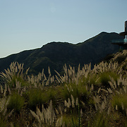Private home in Santa Monica Mountains park. California,USA.
