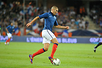 FOOTBALL - FRIENDLY GAME - FRANCE v CHILI - 10/08/2011 - PHOTO SYLVAIN THOMAS / DPPI - KARIM BENZEMA (FRA)