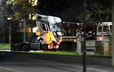 M271 Horror  Lorry Crash