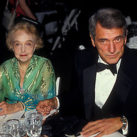 May 1984 photo of Rock Hudson and Lillian Gish in Washington, DC.