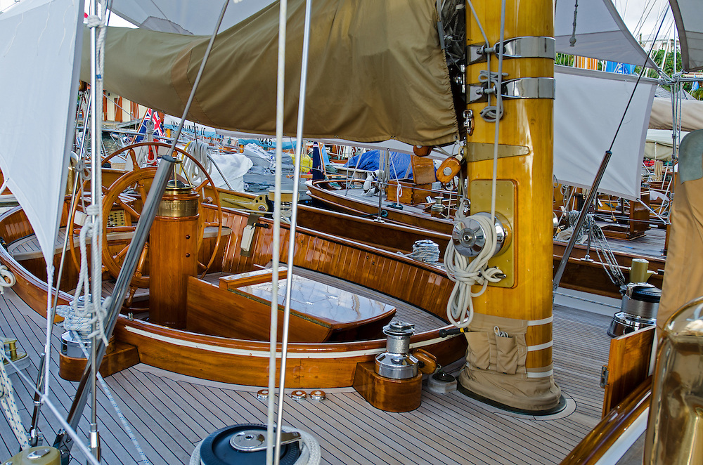 Super Yacht mask.<br /> <br /> 2015. Wonderful yachts and passionate sailors, from all over the world, are gathering in Antigua for the 28th edition of the Antigua Classic Yacht Regatta, sponsored by Panerai.