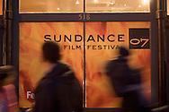 Sundance Film Festival street scenes on Main Street in Park City, Utah