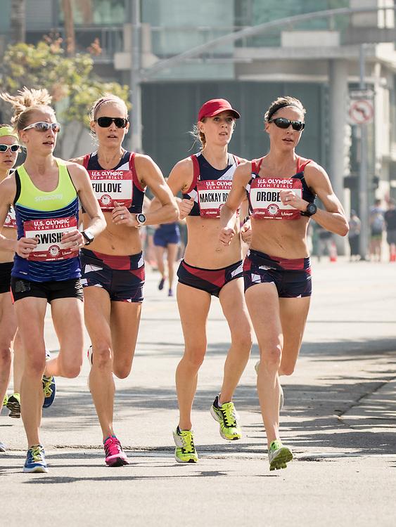 USA Olympic Team Trials Marathon 2016, Oiselle, Drobeck, Fullove, Robinson