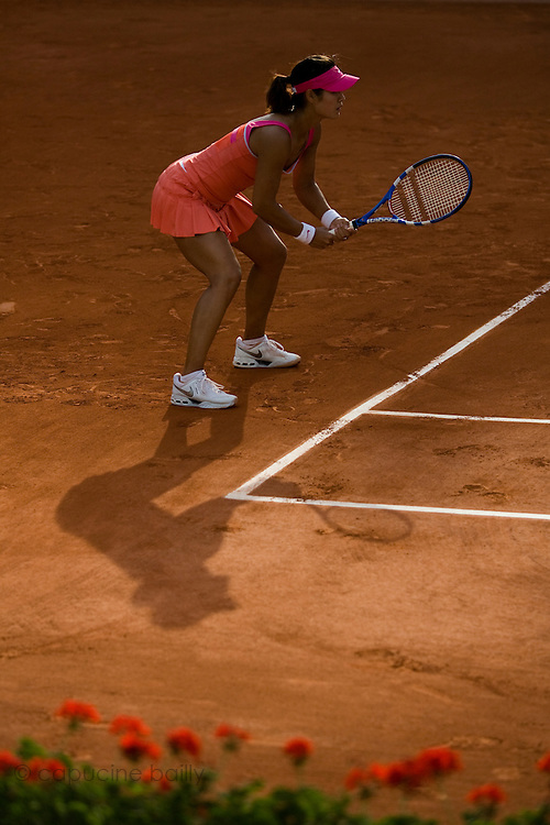 Paris, France. May 31st 2009. .Roland Garros - Tennis French Open. 3rd Round..Na Li against Maria Sharapova