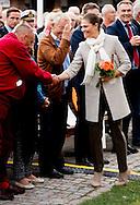 28-9-2016 BORGHOLM SWEDEN - Crown Princess Victoria  Attend the launch of the 20th anniversary celebrations for &Ouml;land Harvest Festival COPYRIGHT ROBIN UTRECHT<br /> 28-9-2016 BORGHOLM ZWEDEN - Kroonprinses Victoria ia aanwezig bij Aanwezigheid bij de lancering van de 20ste verjaardag viering van &Ouml;land Harvest Festival COPYRIGHT ROBIN UTRECHT