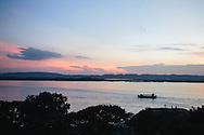 Irrawaddy River, Ayeyarwady River, mandalay, myanmar, burma
