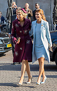 Amsterdam , 28-03-2017 <br /> <br /> State Visit to The Netherlands<br /> of president Mauricio Macri<br /> of The Argentinian Republic and his wife  Juliana Awada.<br /> <br /> PUBLICATION ONLY IN FRANCE<br /> <br /> King WIllem-Alexander, Queen Maxima and Juliana Awada arrive at the Prime Minister's office<br /> <br /> COPYRIGHT: ROYALPORTRAITS EUROPE/ BERNARD RUEBSAMEN