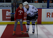 KELOWNA, CANADA - OCTOBER 04:  Second Star of the Game Matthew Phillips #11 of the Victoria Royals at the Kelowna Rockets game on October 04, 2017 at Prospera Place in Kelowna, British Columbia, Canada.  (Photo By Cindy Rogers/Nyasa Photography,  *** Local Caption ***