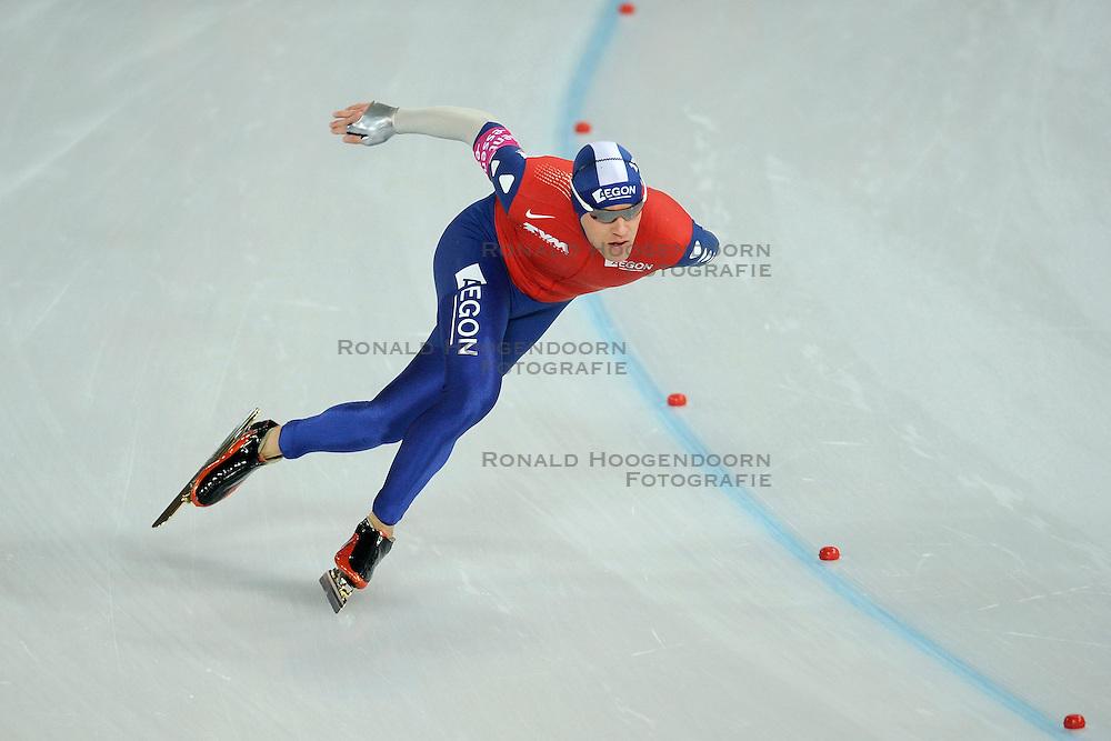 07-02-2009 SCHAATSEN: WK ALLROUND: HAMAR <br /> Carl Verheijen op de 500 meter <br /> &copy;2009-WWW.FOTOHOOGENDOORN.NL