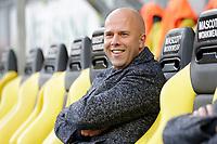 assistant trainer Arne Slot of AZ Alkmaar