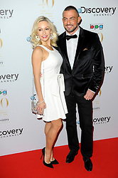 Kristina Rihanoff with Robin Windsor attends the Broadcasting Press Guild Awards sponsored by The Discovery Channel at Theatre Royal, London, United Kingdom. Friday, 28th March 2014. Picture by Chris Joseph / i-Images