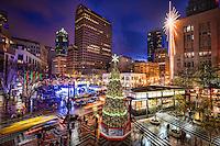 Christmas in Seattle (Westlake Center)