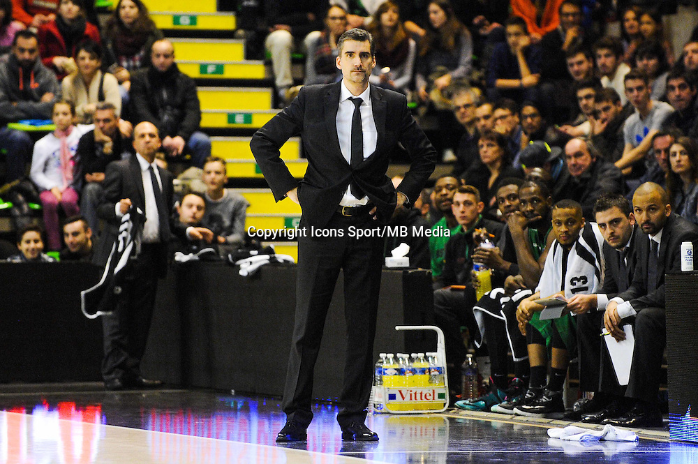 J.D JACKSON / Eric DELORD / TJ PARKER / Nordine GHRIB  - 29.12.2014 - Lyon Villeurbanne / Le Havre - 16e journee Pro A<br />Photo : Jean Paul Thomas / Icon Sport
