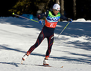 Cross Country Skiing Relay, Whistler Olympic Park, British Columbia, Canada
